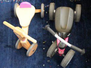 Holz-Rutscher vs. Wutsch von Puky