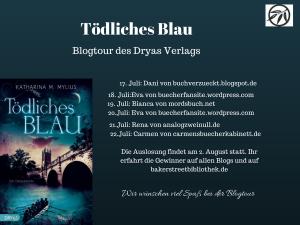 Blogtour Tödliches Blau