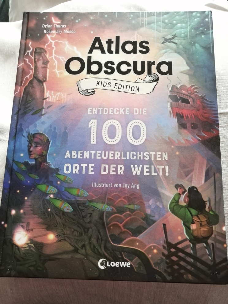 Atlas Obscura Kids Edition - Entdecke die 100 abenteuerlichsten Orte der Welt! (c) Carmen Vicari