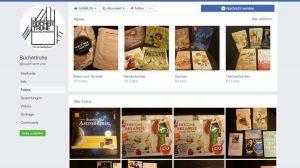 Facecbookseite der Bücher-Truhe